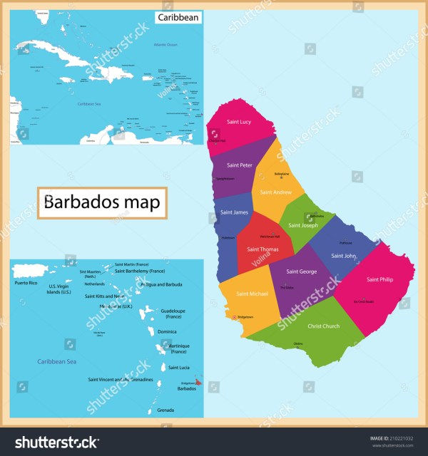 20+ Map Of Barbados With Parishes Pictures and Ideas on Weric Christ Church Barbados Map on