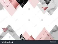 Marble Rose Background Trendy Minimalist Geometric Stock ...