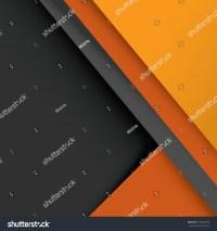 Material Design Wallpaper, Gray, Orange Stock Vector ...