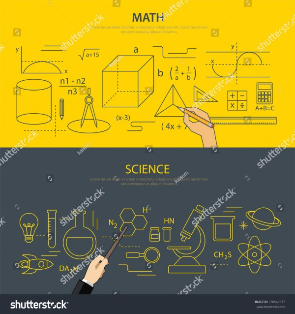 Math Science Education Concept Stock Vector 270542537