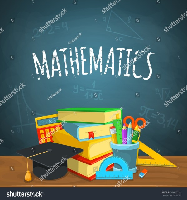Math Backdrop Education Background Design Science Stock