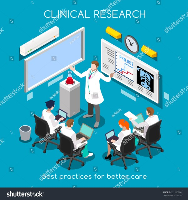 Medical Doctor Conference Translational Data Clinic Stock