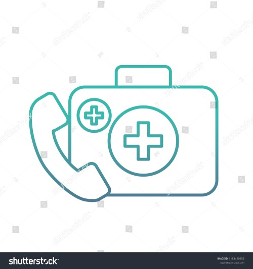 small resolution of medical telephone service kit first aid