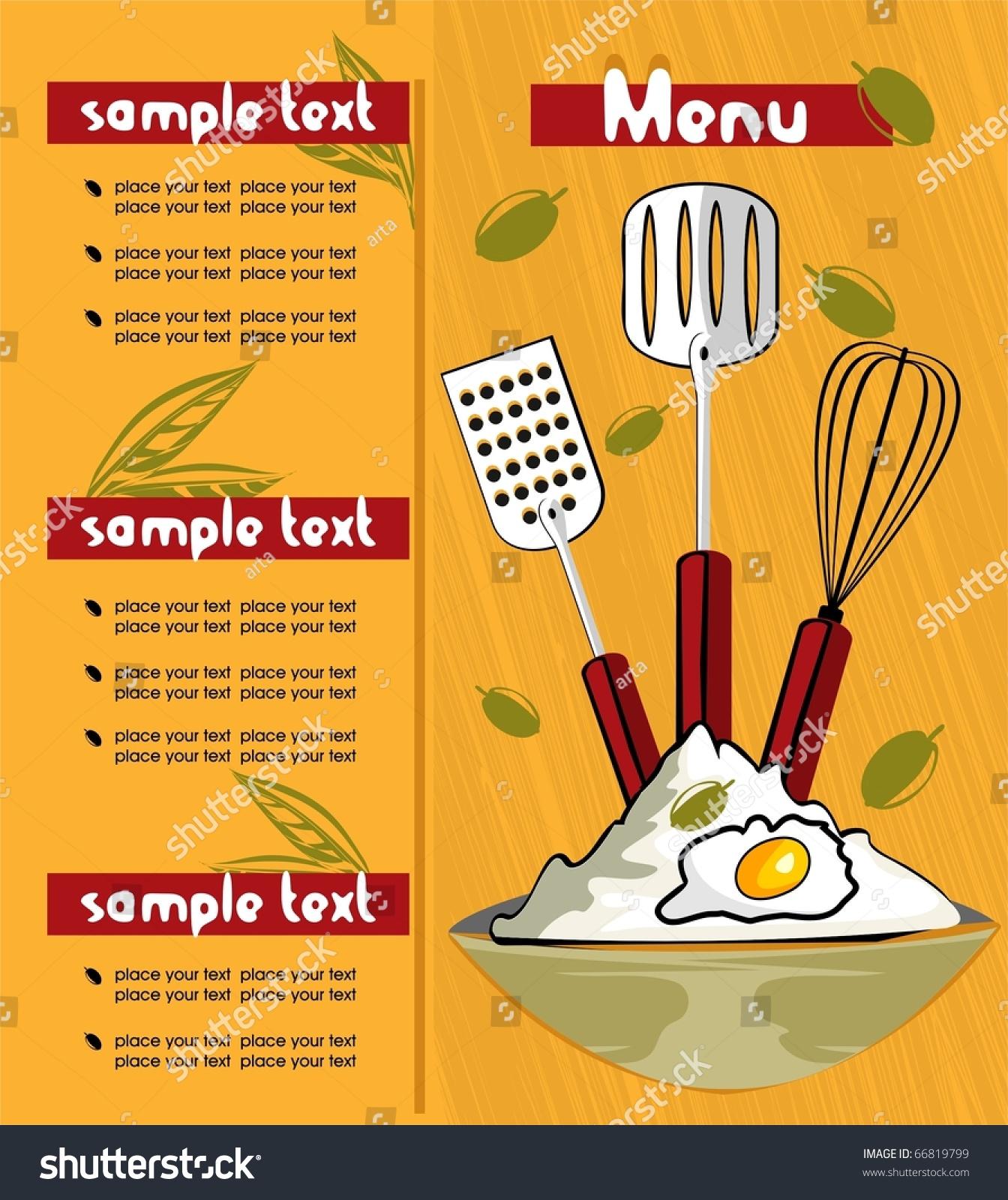 Sample Menu Template ] | Sample Menu Template, Sample Menu Template ...