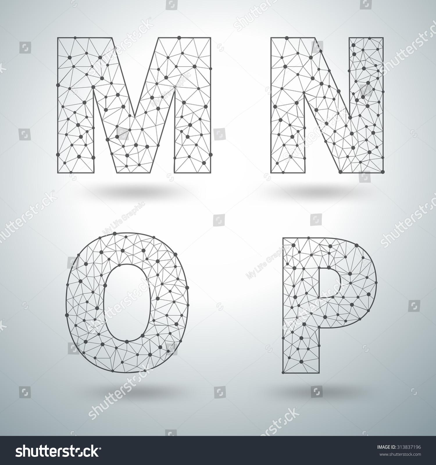 Letter M N O P Worksheet