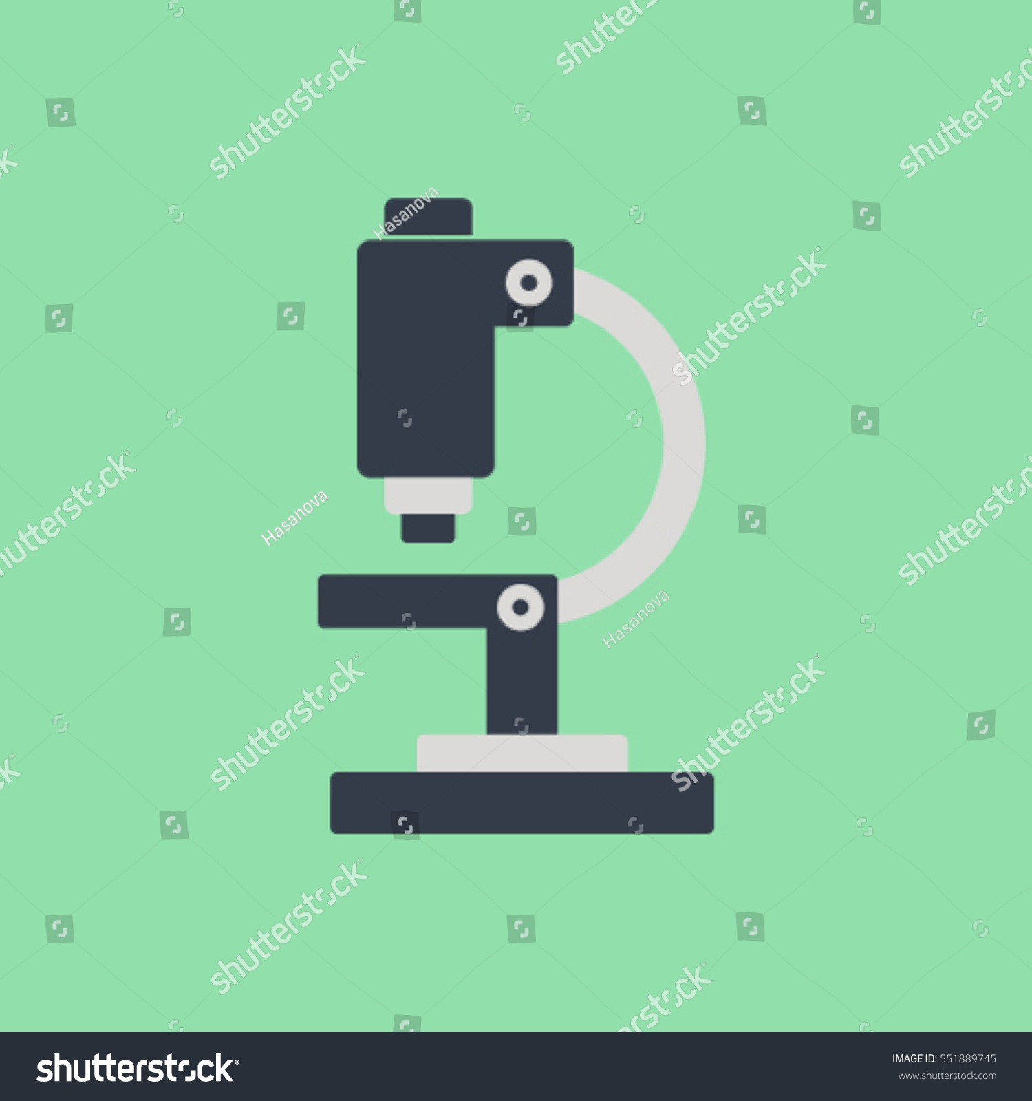hight resolution of microscope clipart