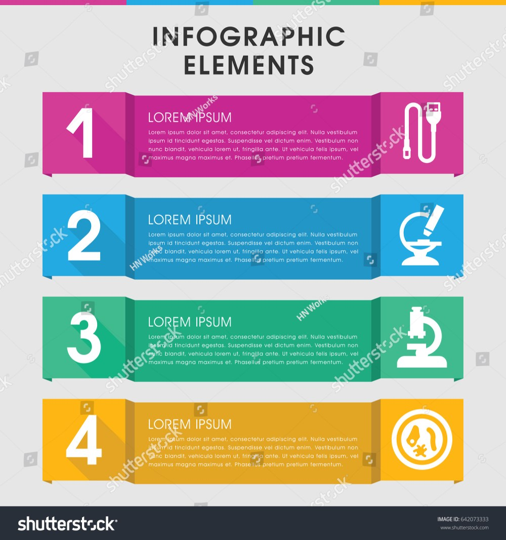 medium resolution of modern micro infographic template infographic design stock vector modern icons wiring diagram