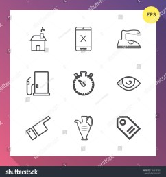 window body gas sale house subscription estate domestic iron building coaxial wire direction fuel modern new icons vector [ 1500 x 1600 Pixel ]