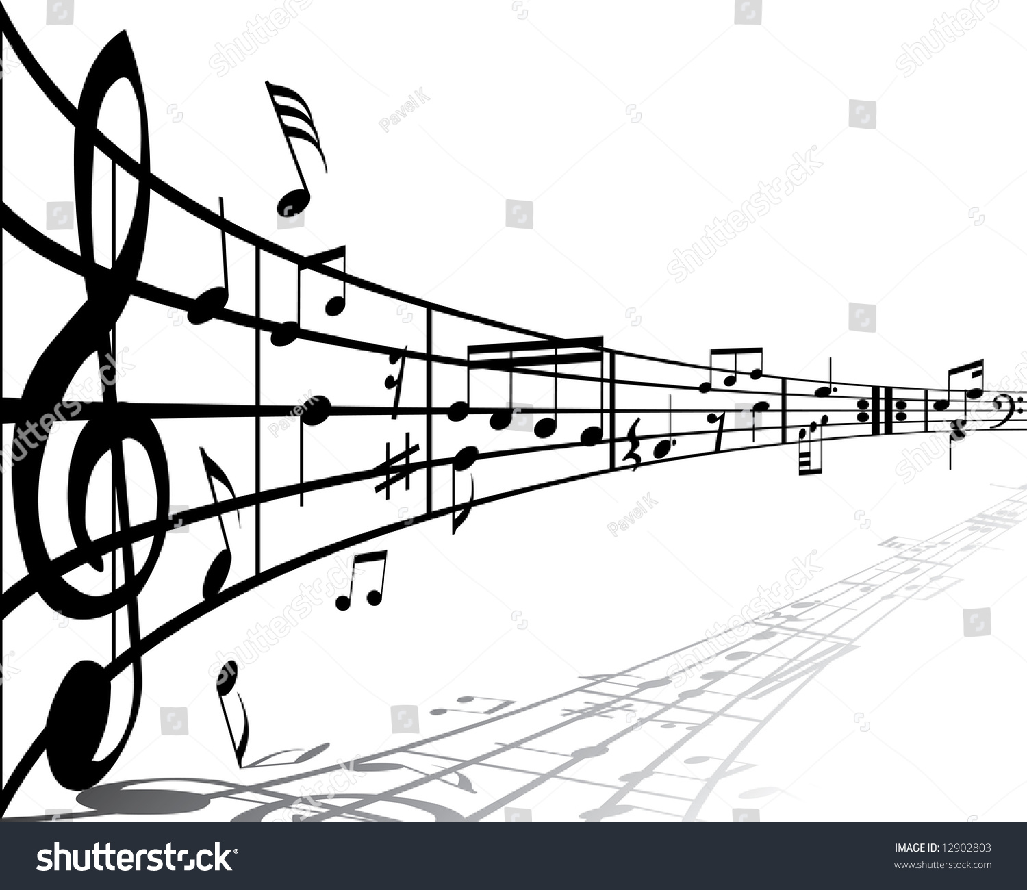 Image result for picture of a music staff