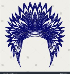 source image shutterstock com report thanksgiving indian headdress clipart  [ 1404 x 1600 Pixel ]