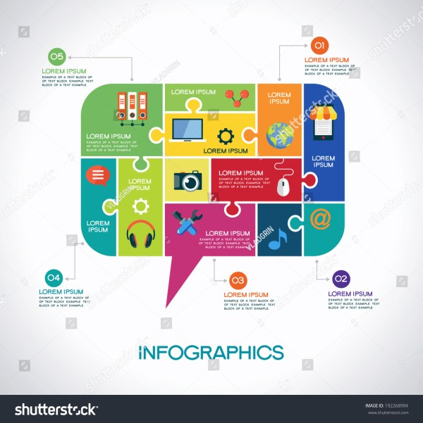 Network Communication Infographic Template Interface Icons