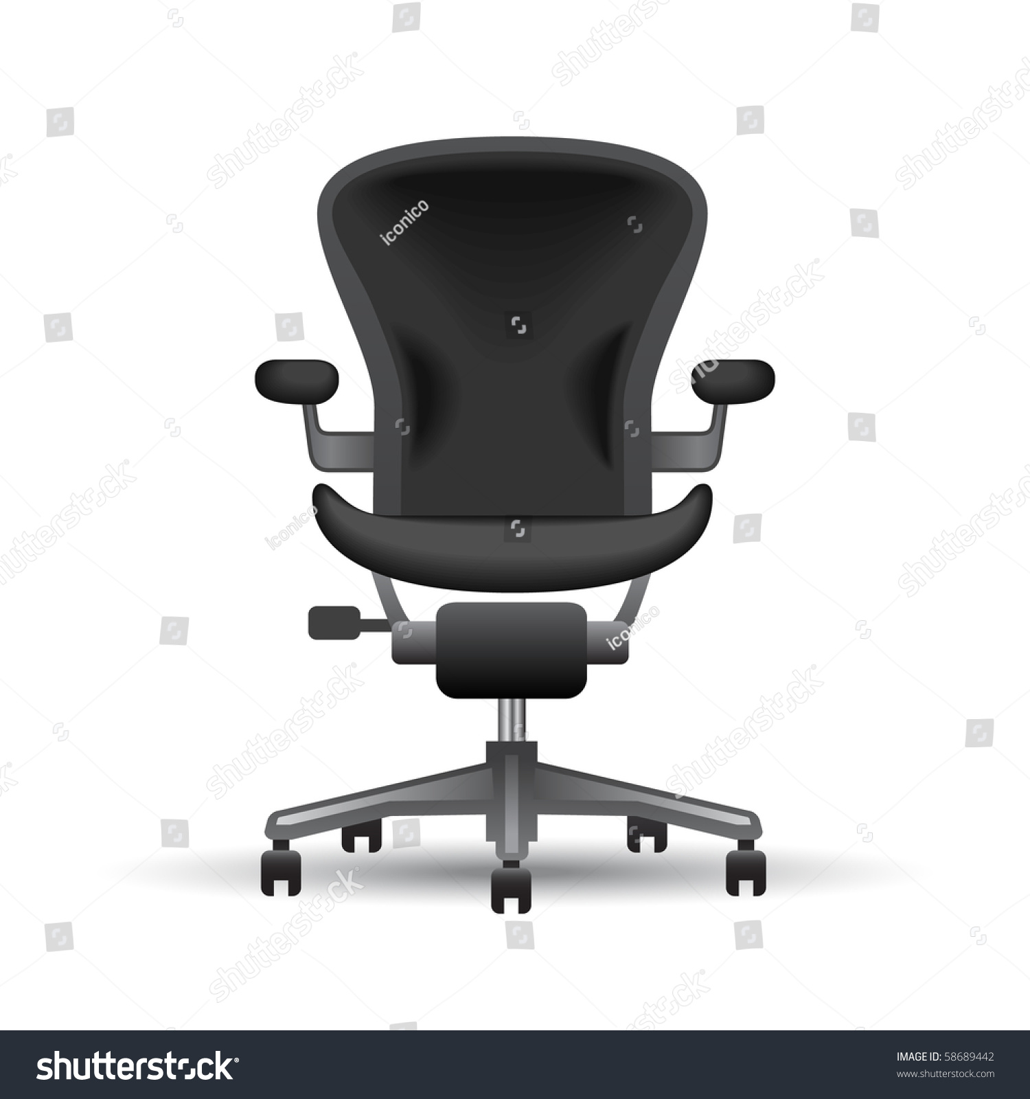 office chair illustration old fashioned rocking neopets stock vector 58689442 shutterstock