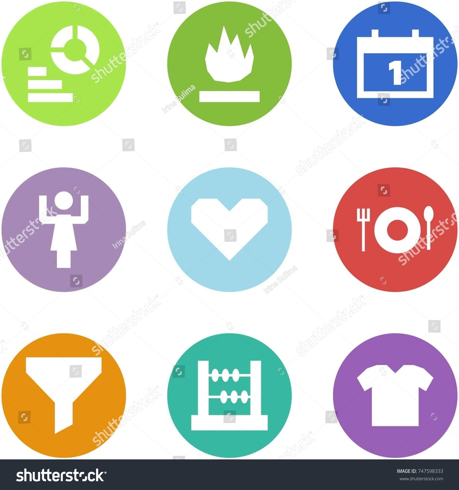 hight resolution of origami corner style icon set diagram fire calendar toastmaster heart