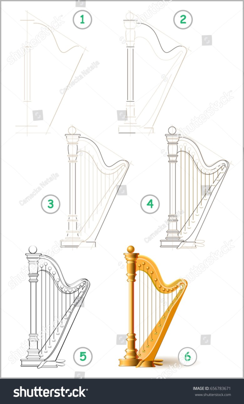 page shows how learn step by stock vector (royalty free) 656783671