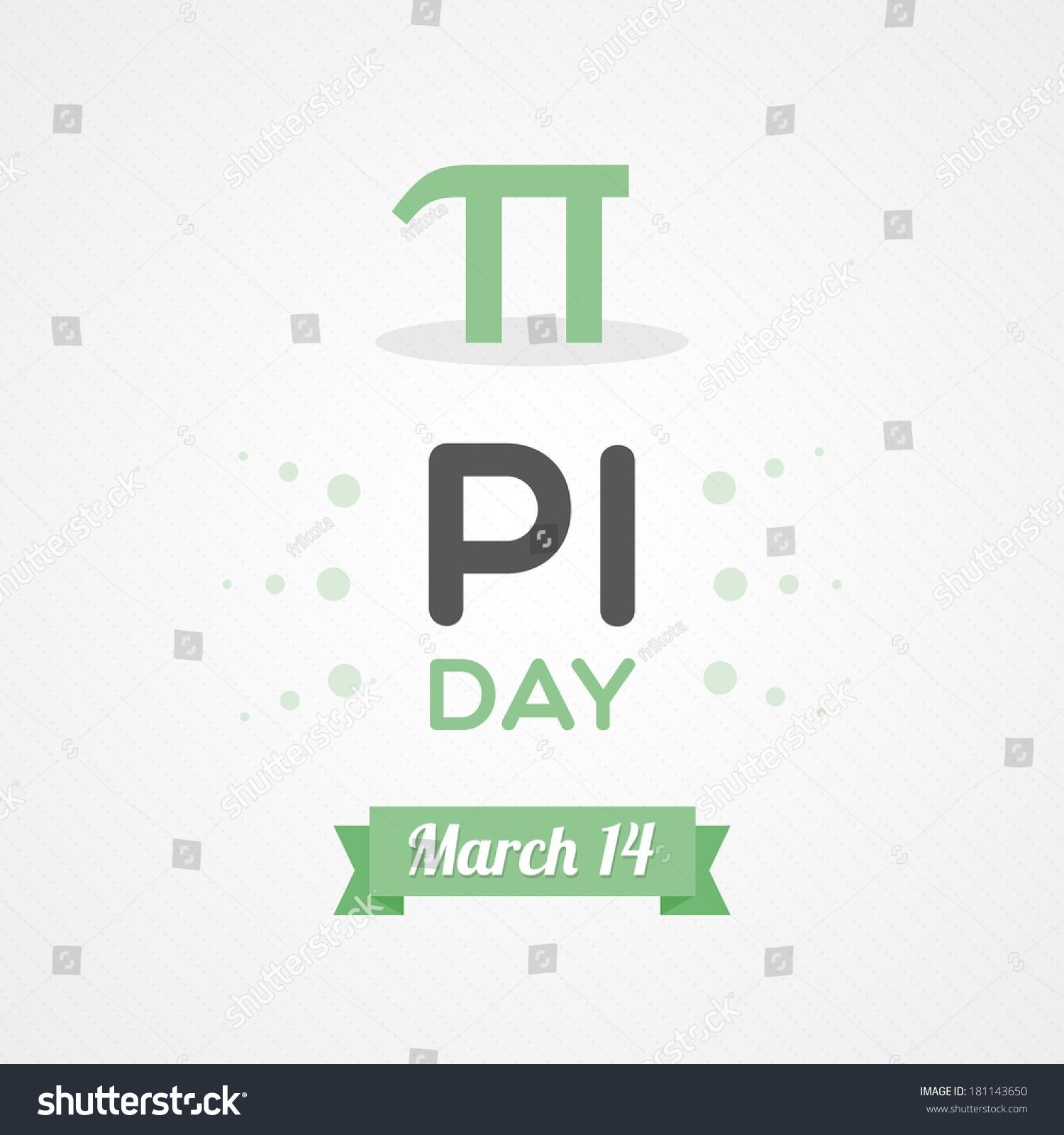 Pi Day 314 Stock Vector