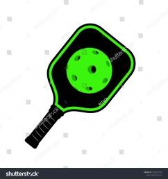pickleball racket illustration [ 1500 x 1600 Pixel ]