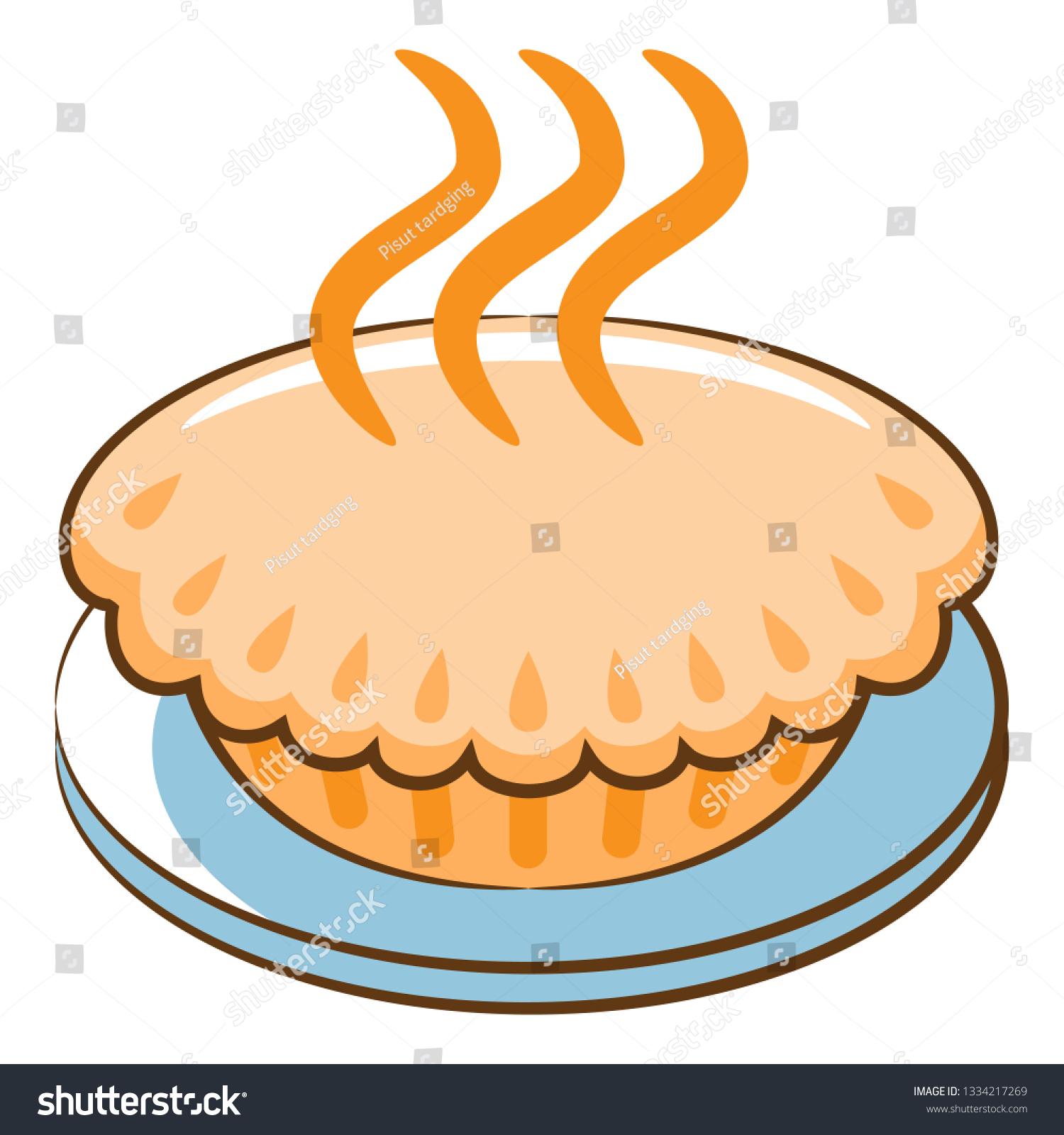 hight resolution of pie kawaii clipart