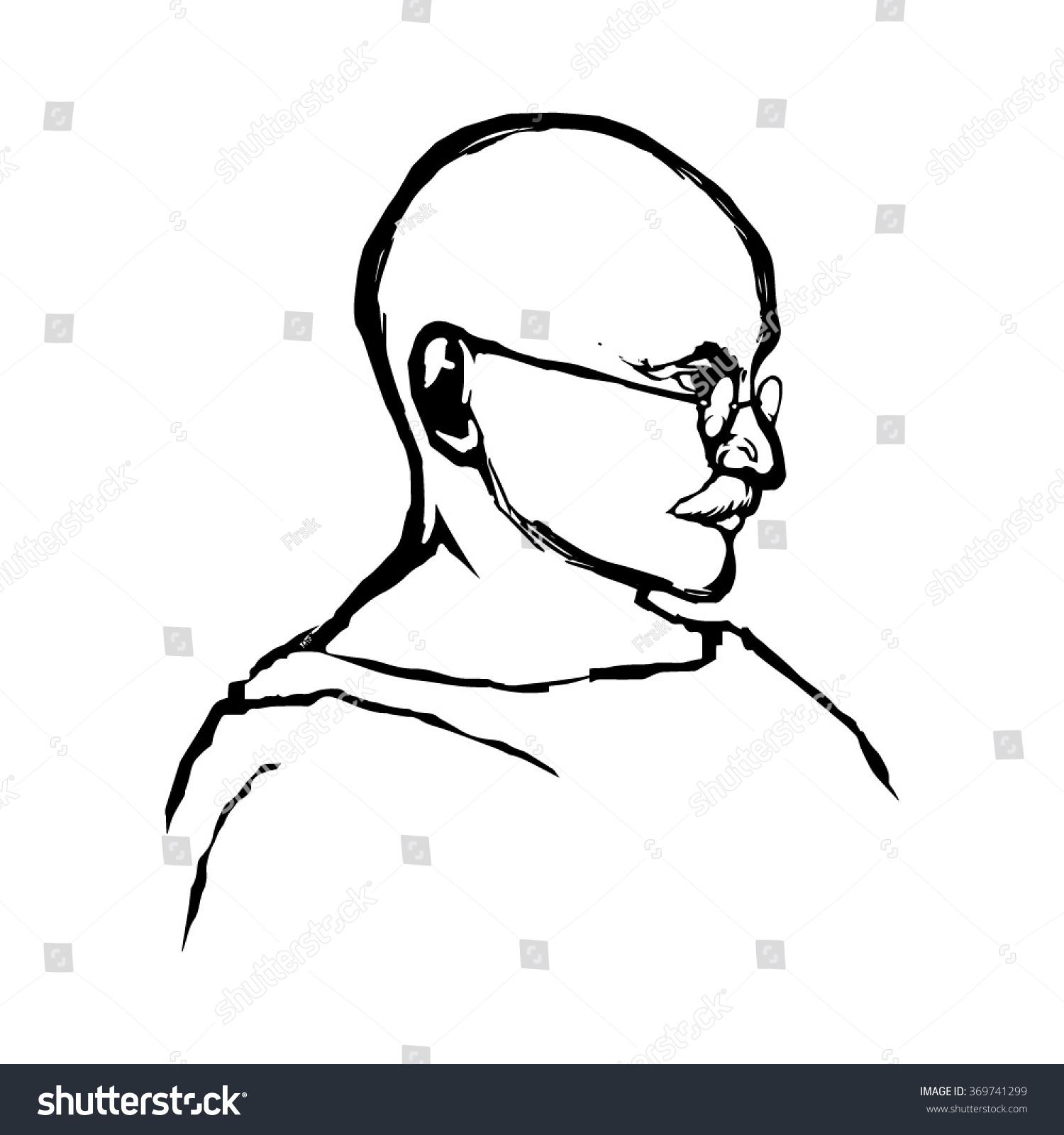 Gandhiji easy drawing pictures gandhiji pencil color photo mahatma