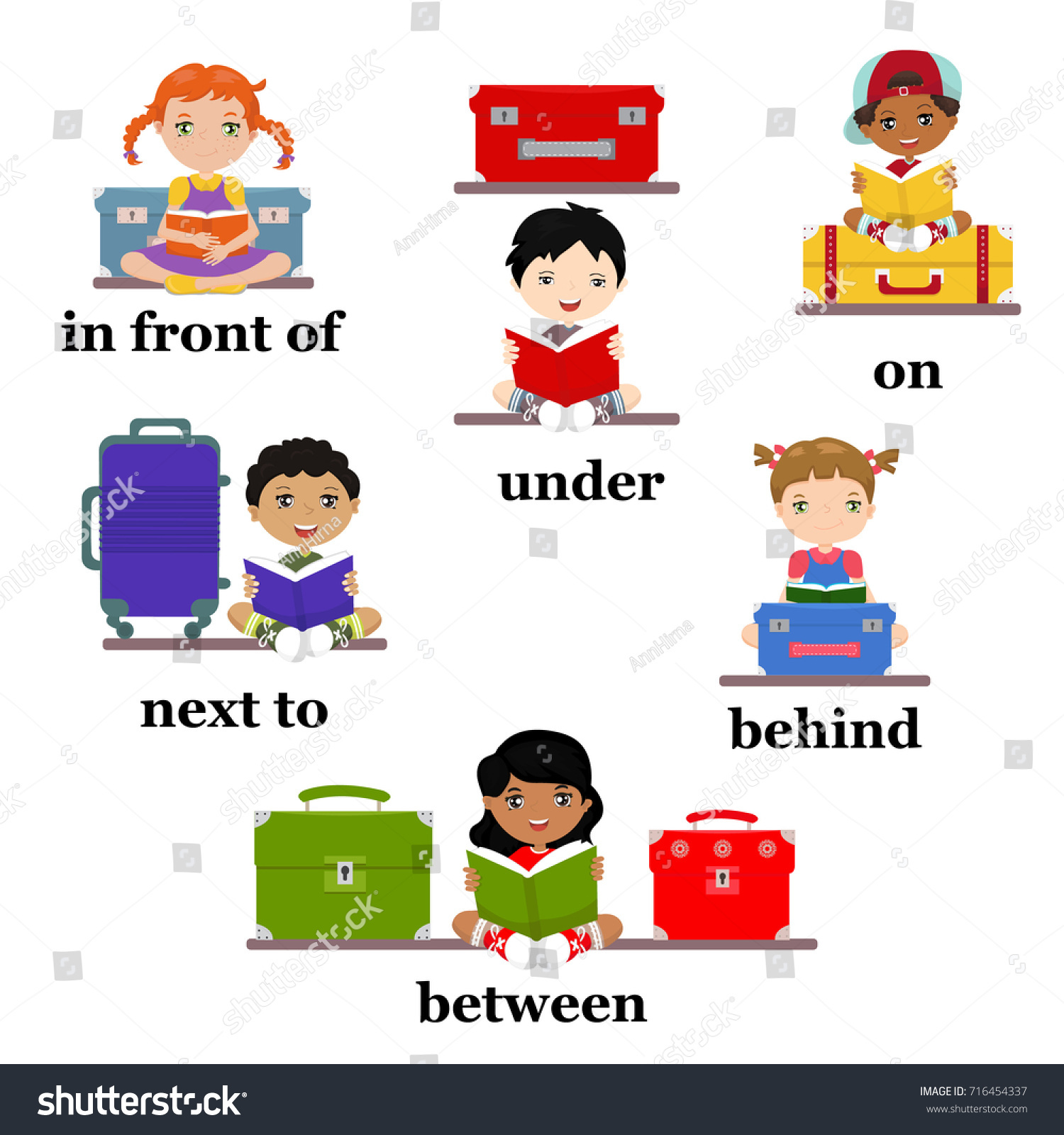 Preposition Motion Preschool Worksheet Education English