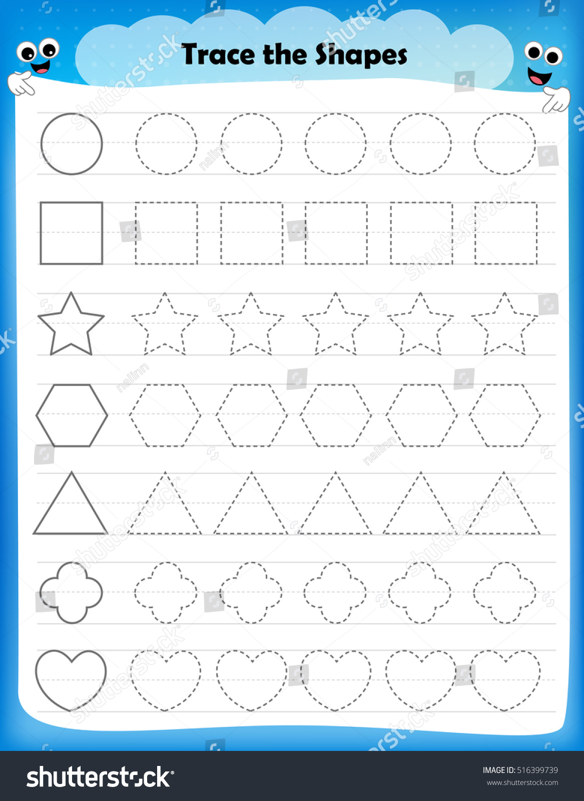 Pictures For Kids To Trace