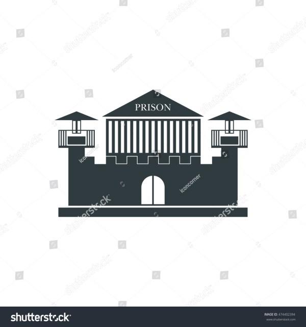 Prison Icon Vector Stock 474402394 - Shutterstock
