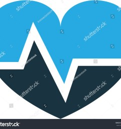 pulse colorful icon symbol premium quality isolated heartbeat element in trendy style  [ 1500 x 1282 Pixel ]