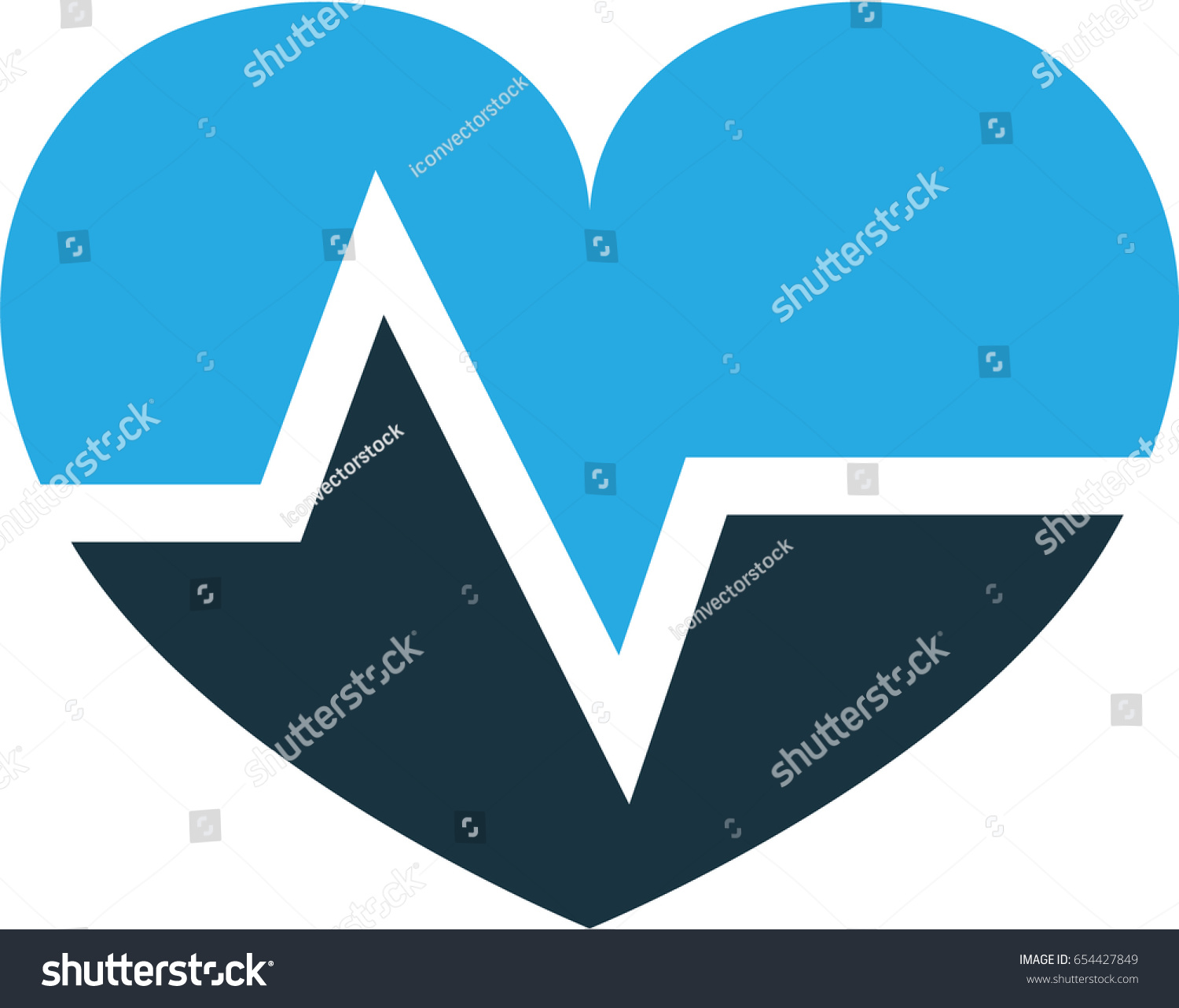 hight resolution of pulse colorful icon symbol premium quality isolated heartbeat element in trendy style