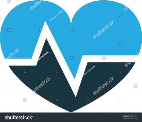 small resolution of pulse colorful icon symbol premium quality isolated heartbeat element in trendy style