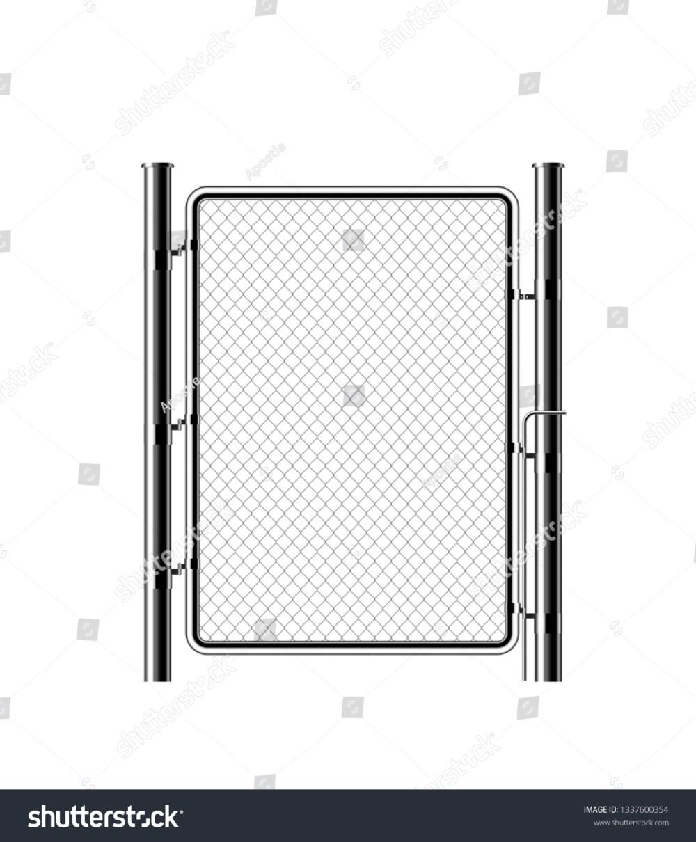 medium resolution of realistic metal chain link fence rabitz art design gate cemetery fence hedge