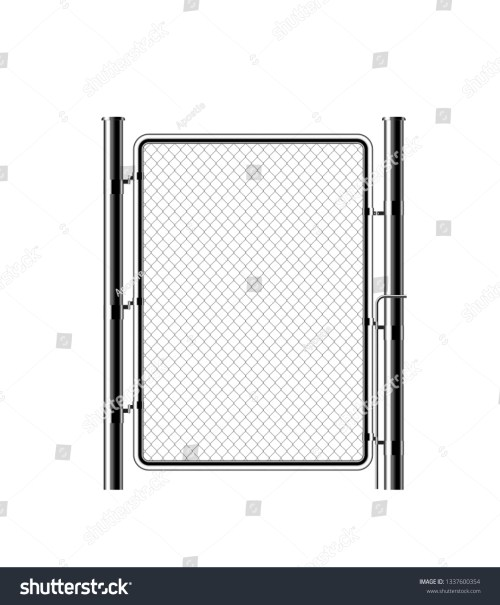 small resolution of realistic metal chain link fence rabitz art design gate cemetery fence hedge