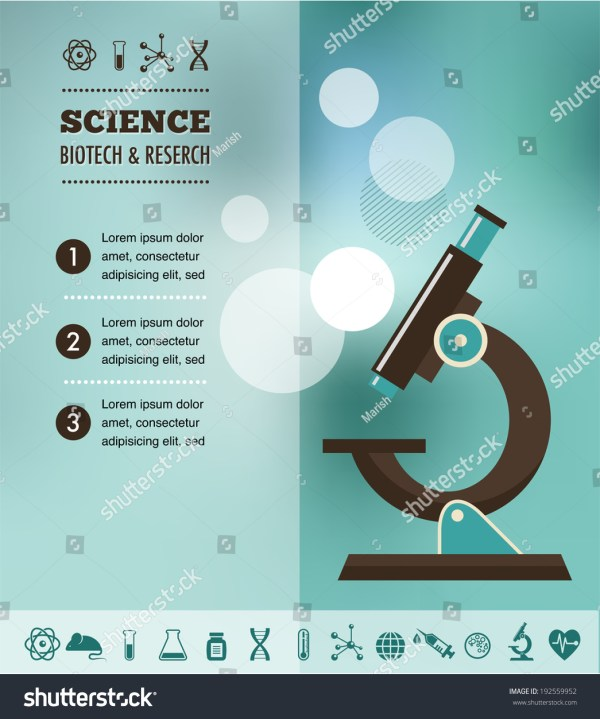 Bio Technology Science Chemical Laboratory Stock