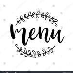 Restaurant Cafe Menu Sign Framed Menu Stock Vector Royalty Free 625166378