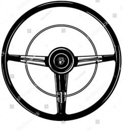 retro steering wheel clipart illustration [ 1200 x 1600 Pixel ]