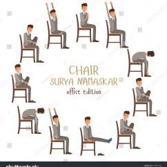 Office Chair Yoga Pdf Wheelchair For Baby 88 43 Sun Salutations Salutation Variation