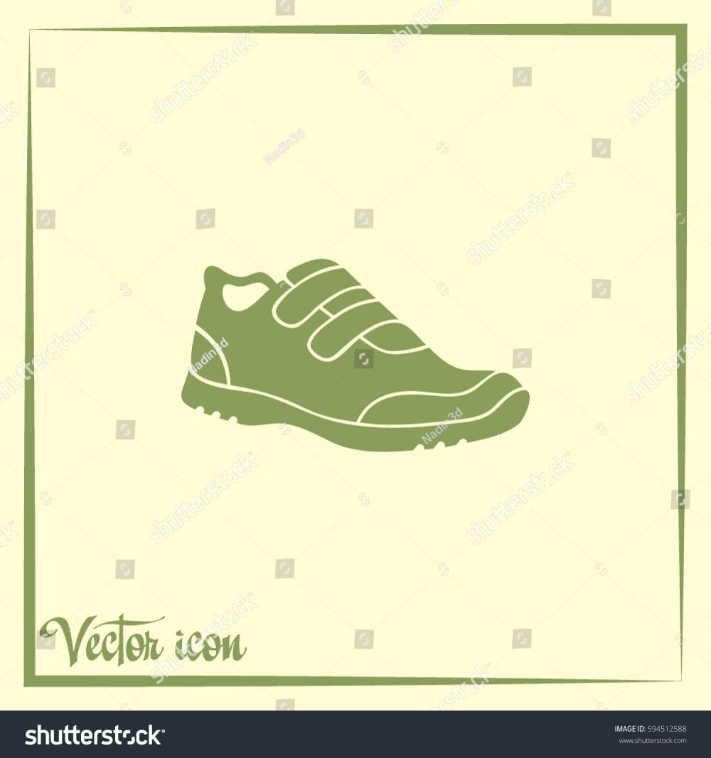 medium resolution of running shoe icon