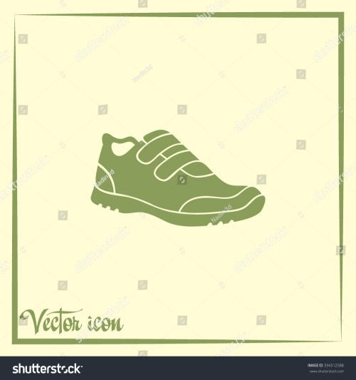 small resolution of running shoe icon