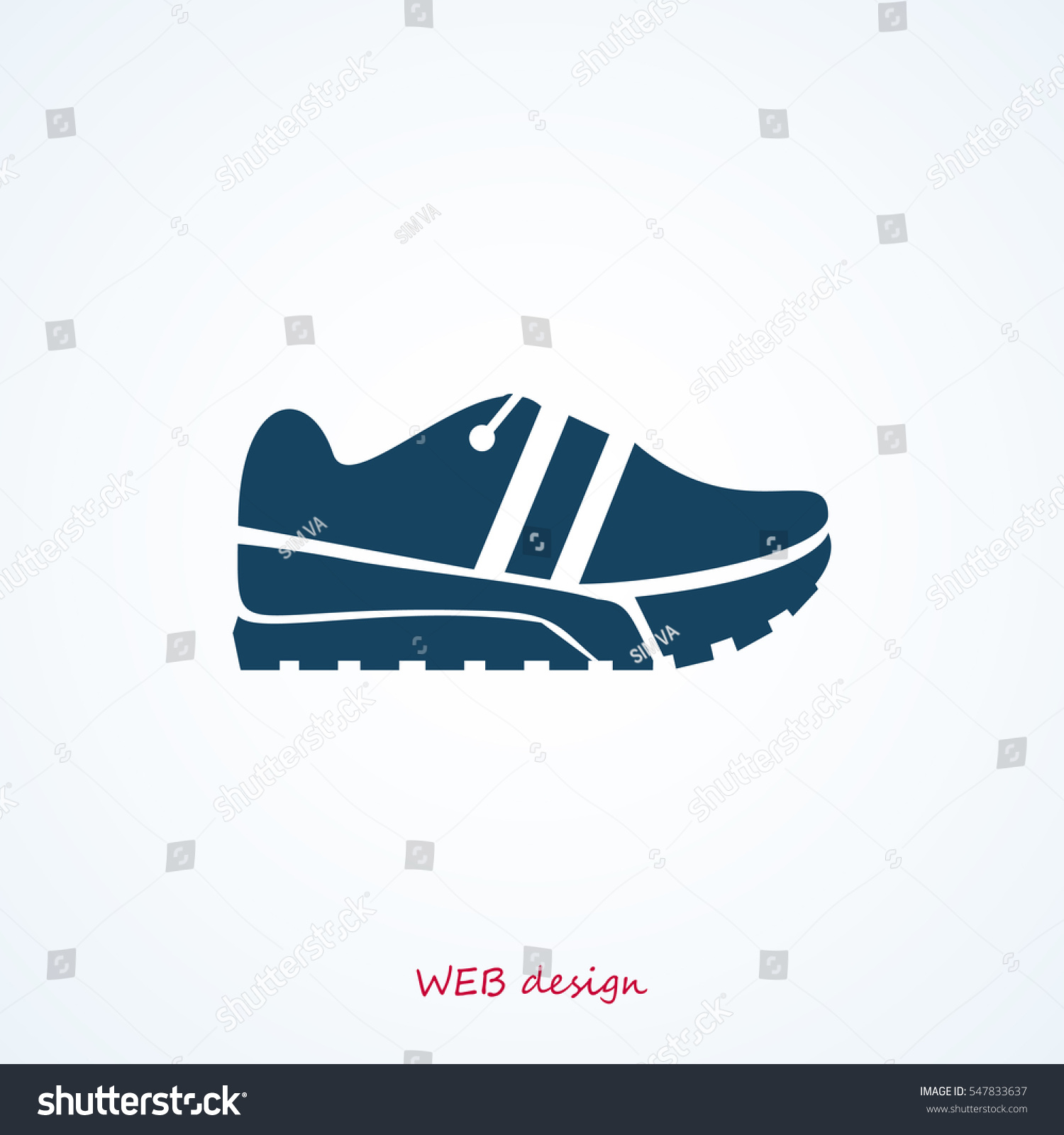 hight resolution of running shoe icon vector best flat icon eps