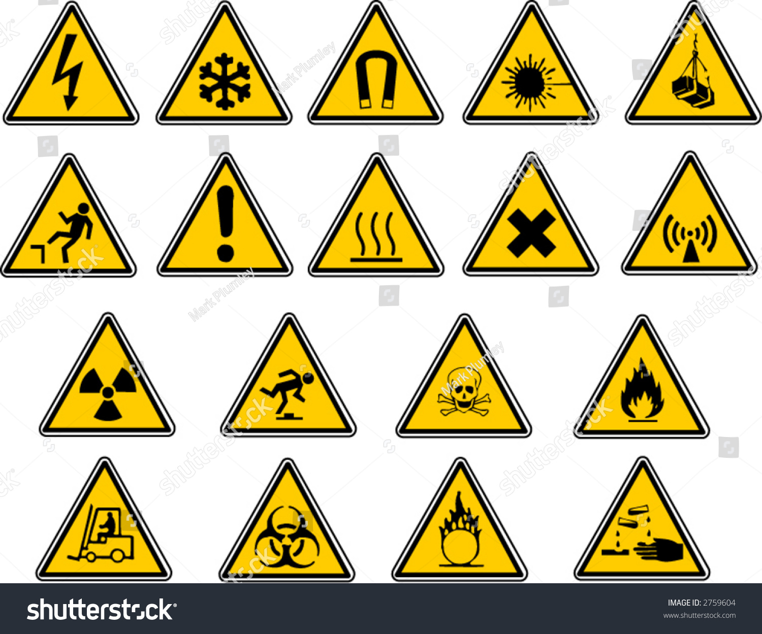 Safety Signs For Your Vector Work
