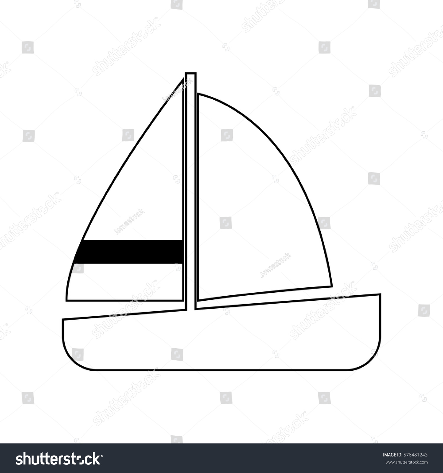 hight resolution of keelboat diagram