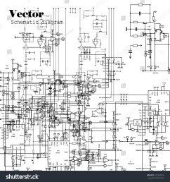 schematic diagram project of electronic circuit graphic  [ 1500 x 1600 Pixel ]