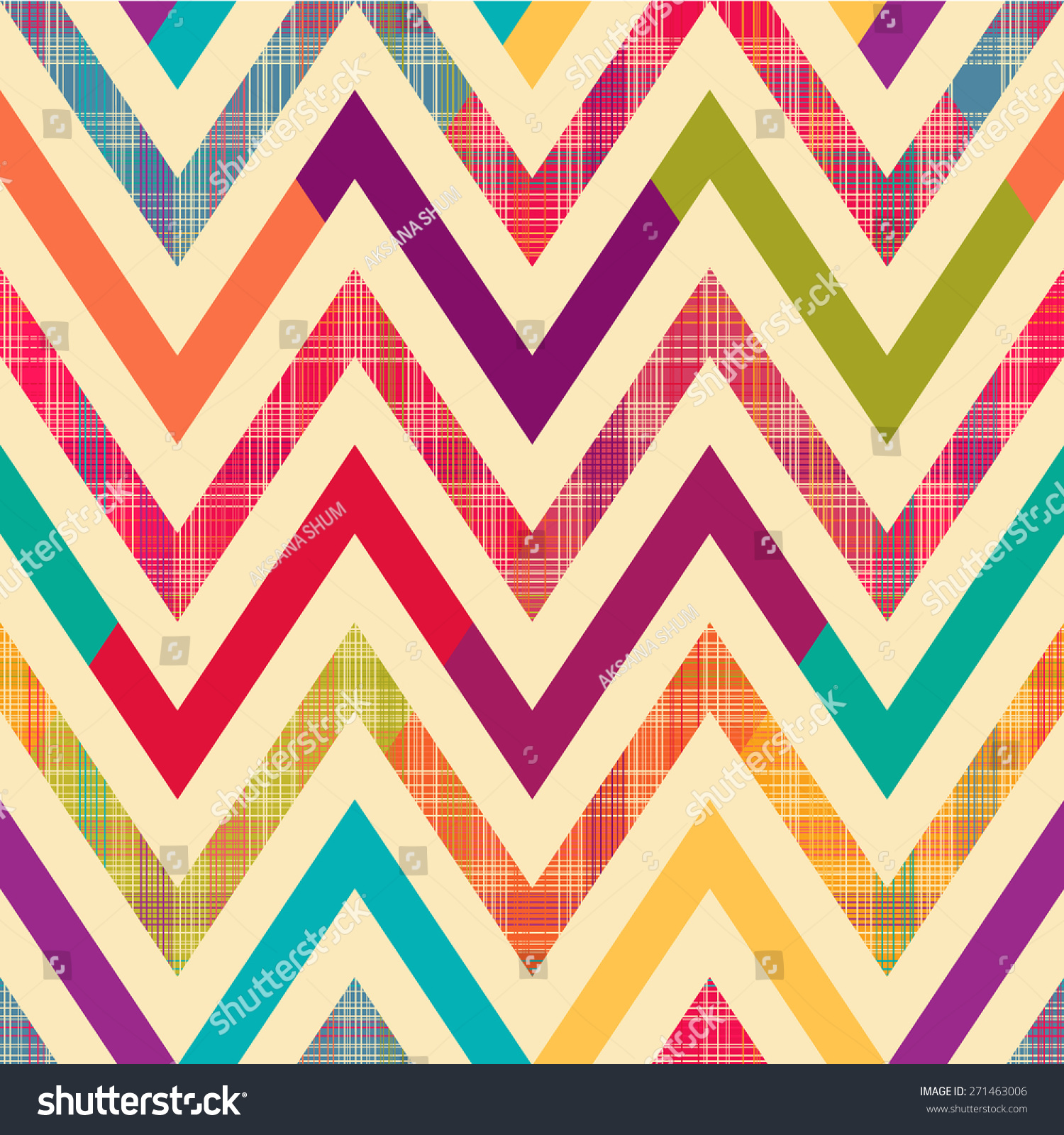bright chevron background