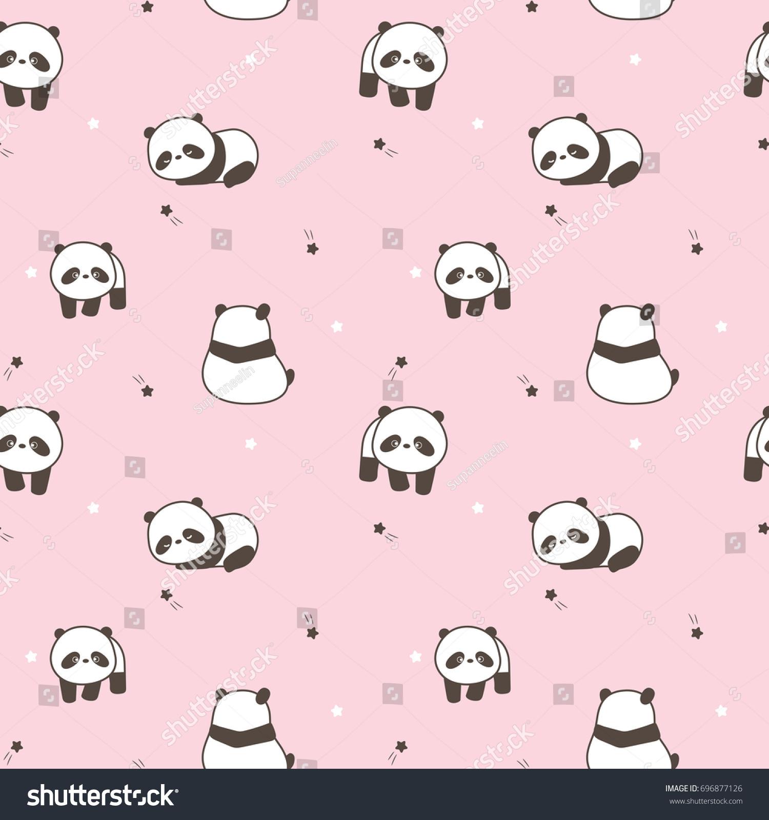 46+ Gambar Kartun Panda Lucu Warna Pink - Blog Meme Terkini