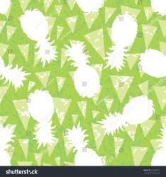 pineapple silhouette background seamless pattern shutterstock vector lightbox save