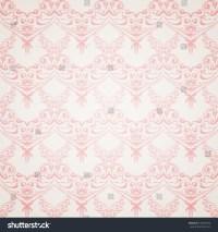 Pink Victorian Pattern Background