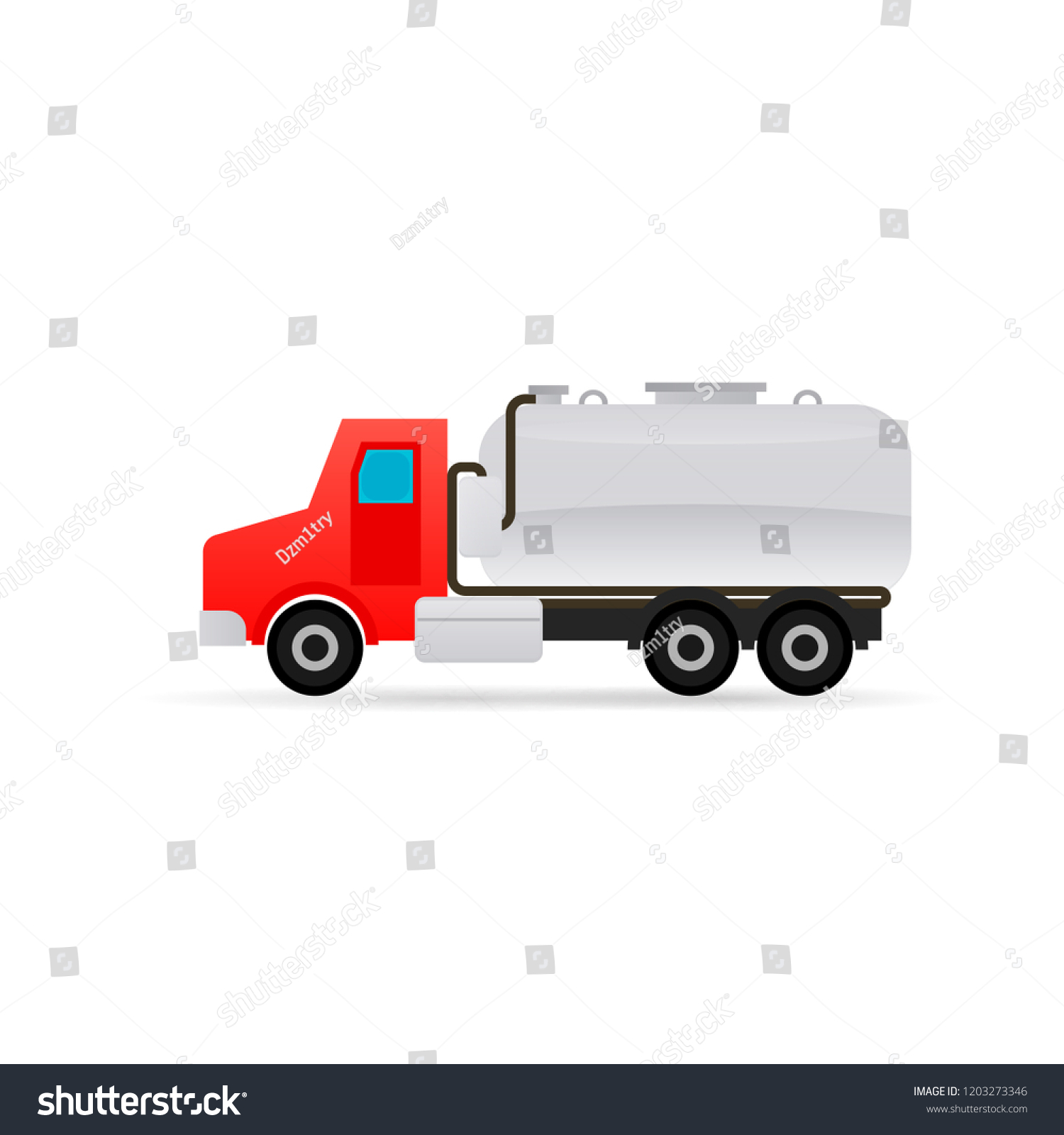 hight resolution of septic tank truck icon clipart image isolated on white background