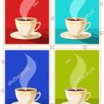 Vector De Stock Libre De Regalias Sobre Set Art Deco Coffee Posters Coffee1340215364