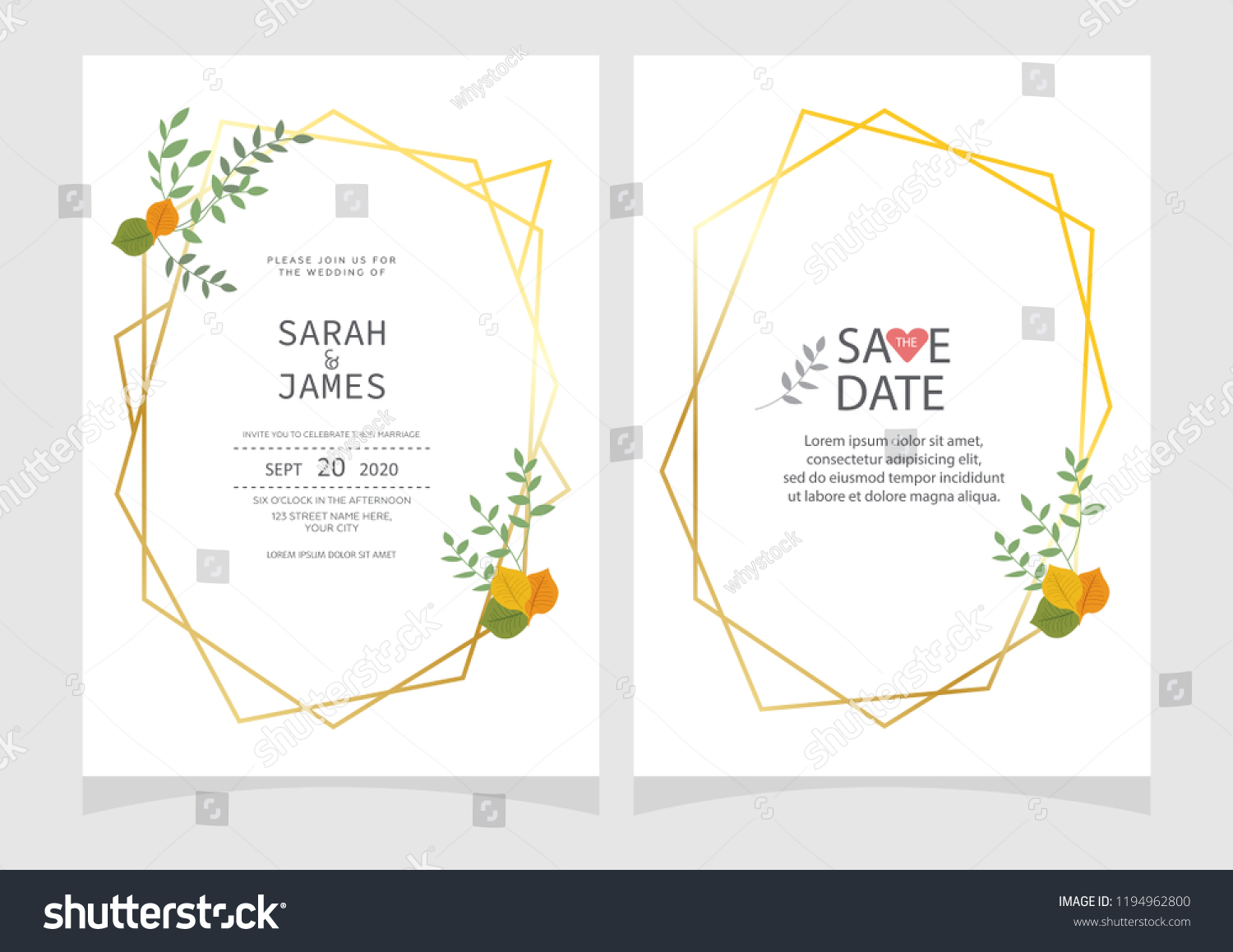 hight resolution of set of card with flower rose leaves floral poster invite wedding ornament