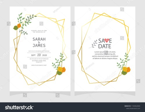 small resolution of set of card with flower rose leaves floral poster invite wedding ornament