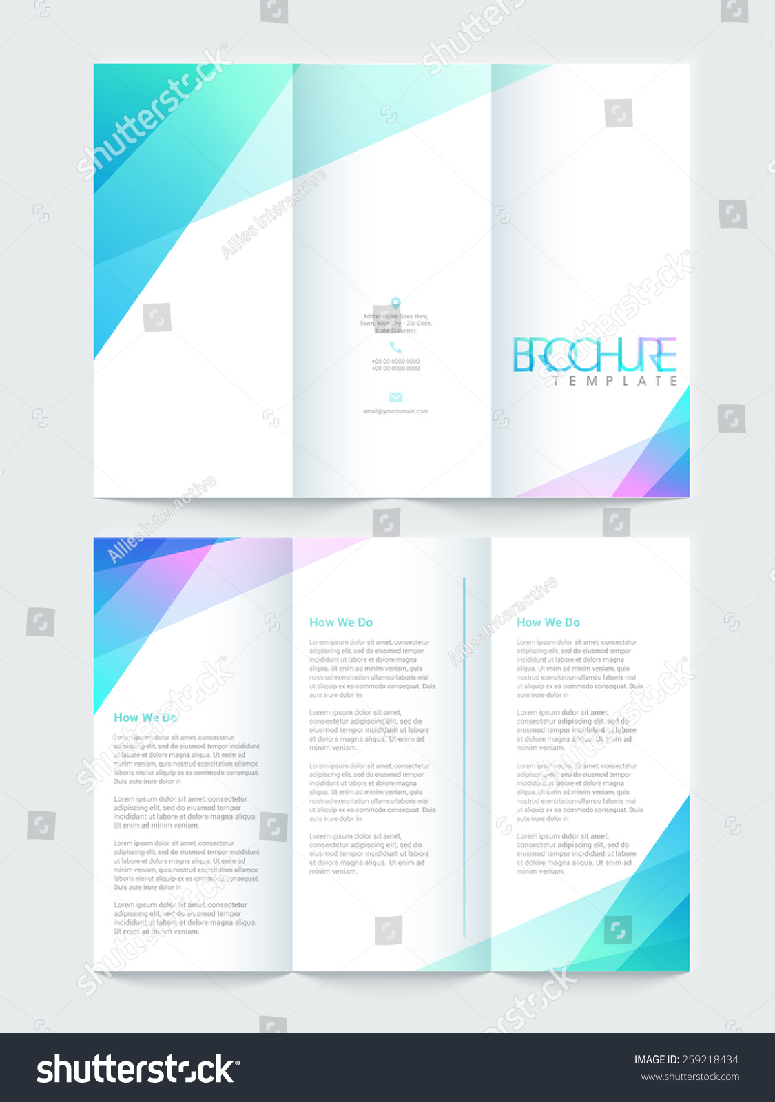 Front And Back Flyer Template Dolap Magnetband Co