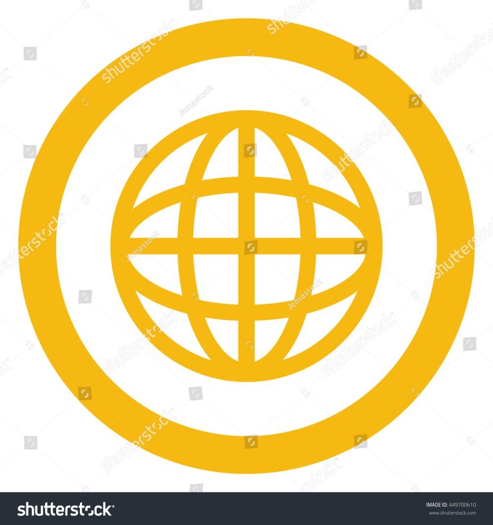 medium resolution of simple flat design earth globe diagram inside circle icon vector illustration